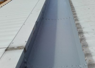 Giromax Gutter Coating to Heavily Corroded Gutters