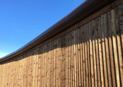 Anti Climb aluminium PPC Bullnose Installation